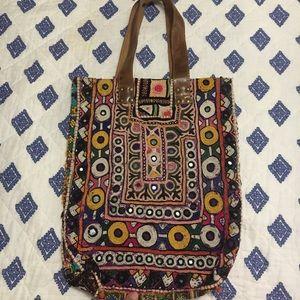 Banjara Patchwork, boho, hippy, tribal, gypsy tote